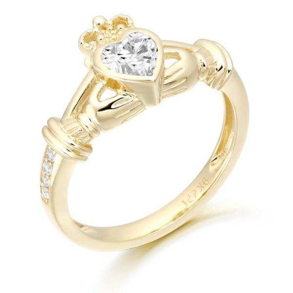 Claddagh Ring-CL44CL