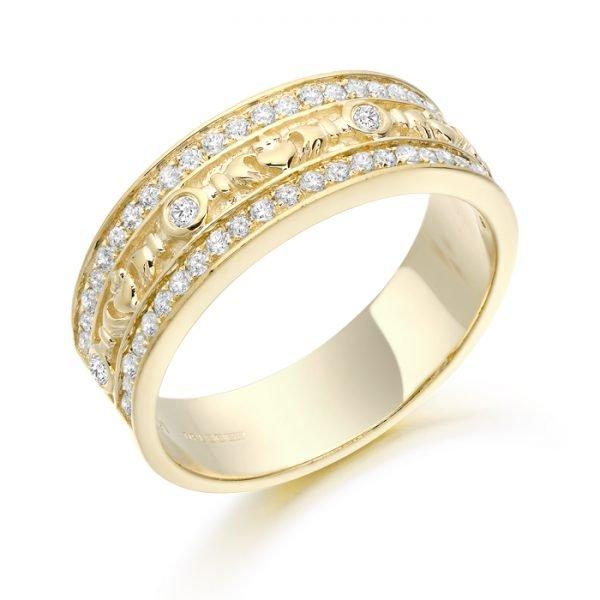 Claddagh Wedding Ring-CL17CL