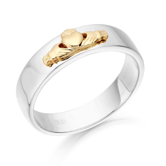 Claddagh Wedding Ring-CL22WYCL