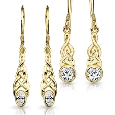 Celtic Earrings A Perfect Way To Complete Your Favourite Evening Looks