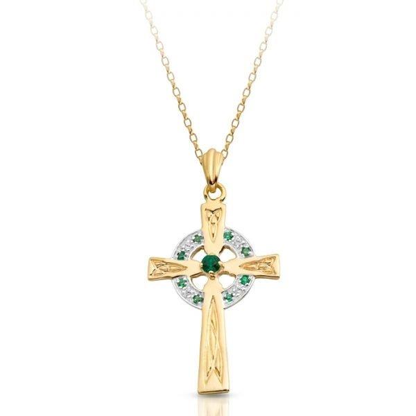9ct Gold Celtic Cross - C111GCL