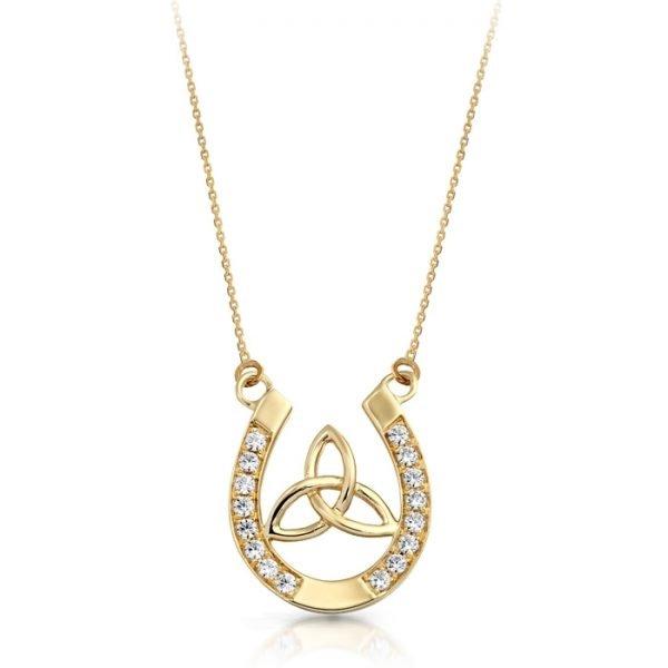 9ct Gold Celtic Pendant-P016CL