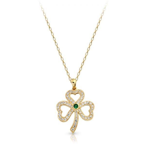 9ct Gold Celtic Pendant-P019SCL