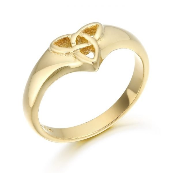 9ct Gold Celtic Ring-3237CL