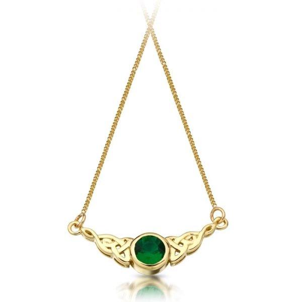 Celtic Necklace-P036GCL