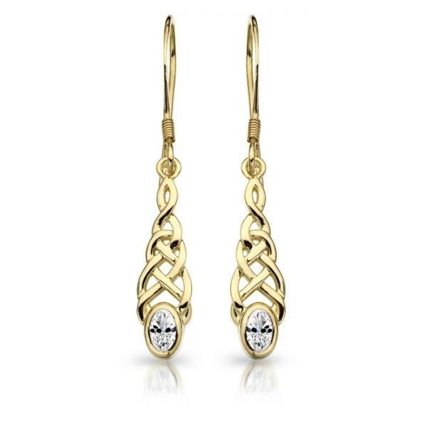 Celtic Earrings-E035CL