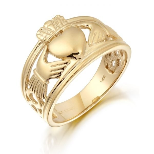 Gents Claddagh Ring-137ACL