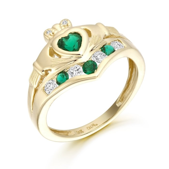 Claddagh Ring-CL29GCL