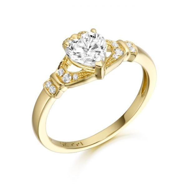 Claddagh Ring-CL37CL