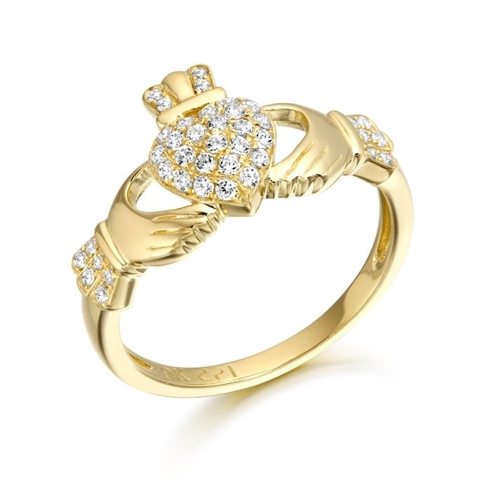 Claddagh Ring-CL39CL