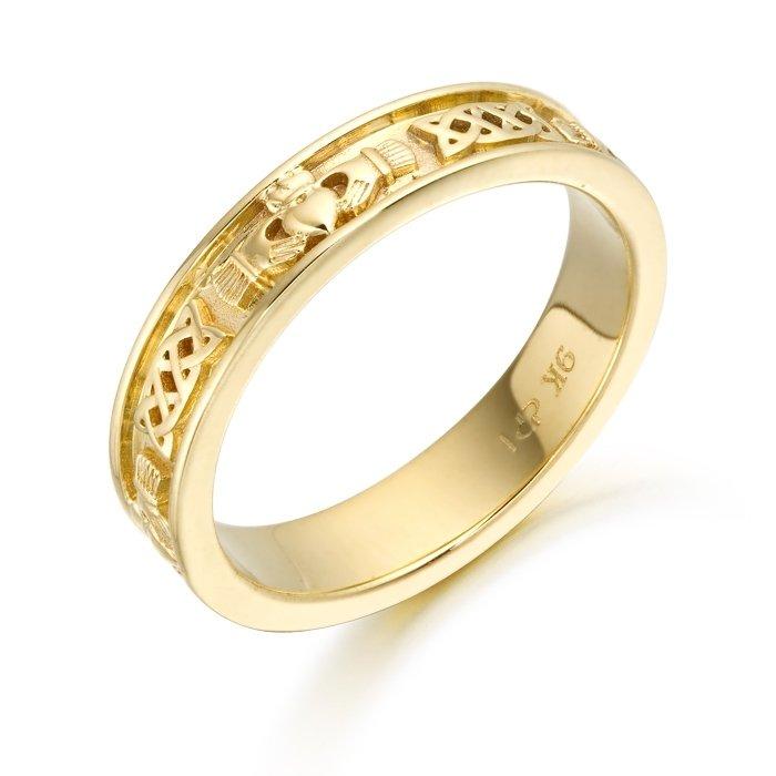 Claddagh Wedding Ring-CL43CL