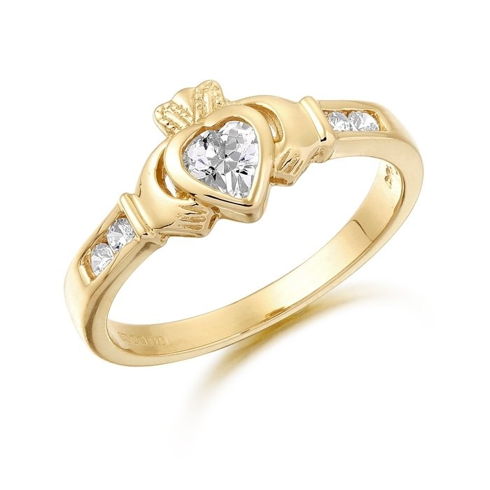 Claddagh Ring-CL100CL