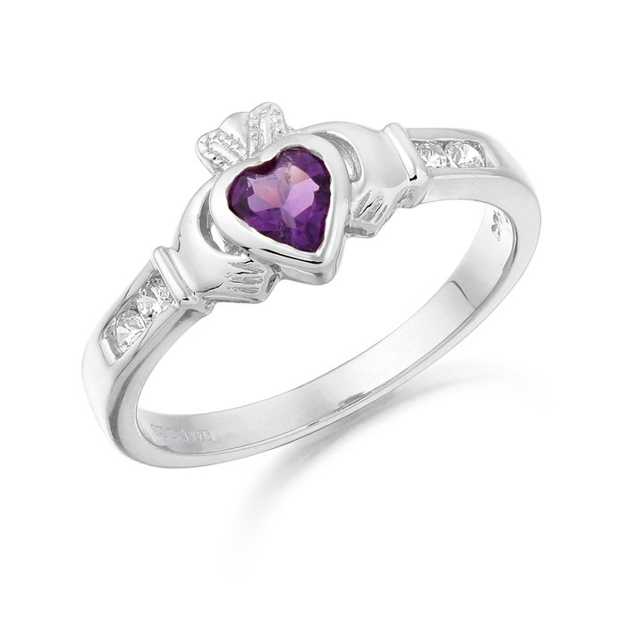 Claddagh Ring-CL100AWCL