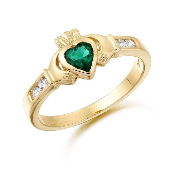 Claddagh Ring-CL100GCL