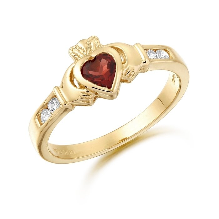 Claddagh Ring-CL100GARCL