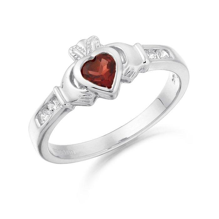 Claddagh Ring-CL100GARWCL