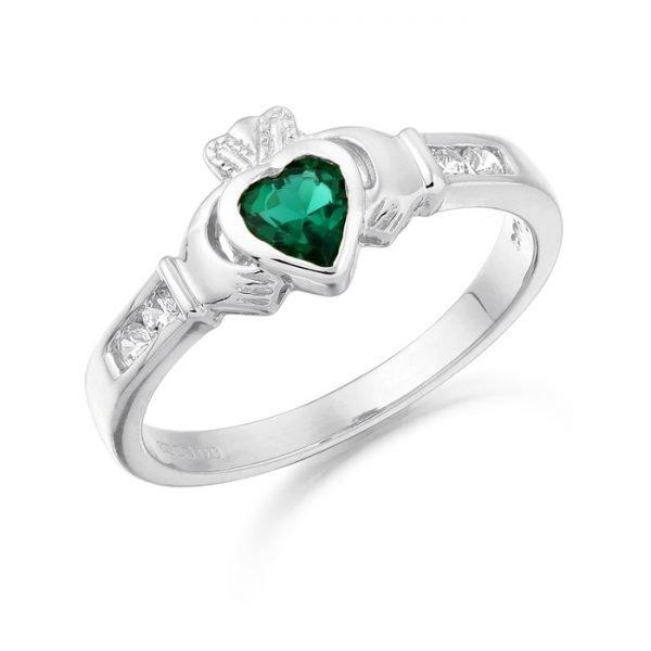 Claddagh Ring-CL100GWCL