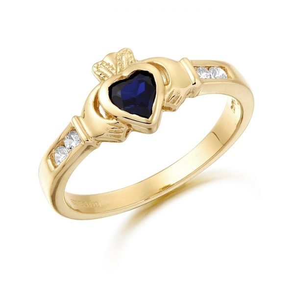 Claddagh Ring-CL100SCL