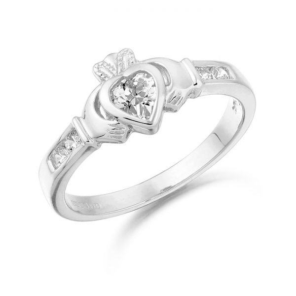 Claddagh Ring-CL100WCL