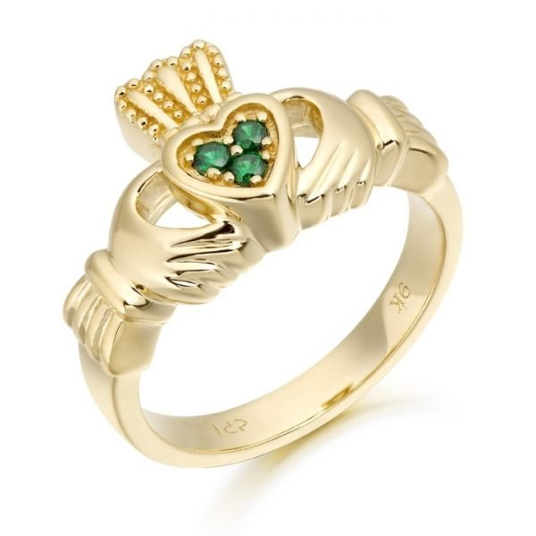 Claddagh Ring-CL15GCL