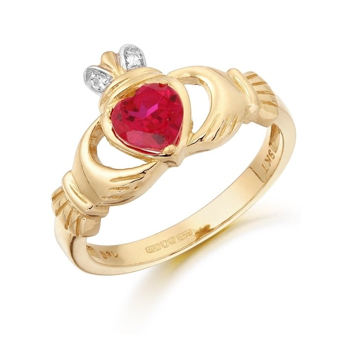 Claddagh Ring-CL25RCL