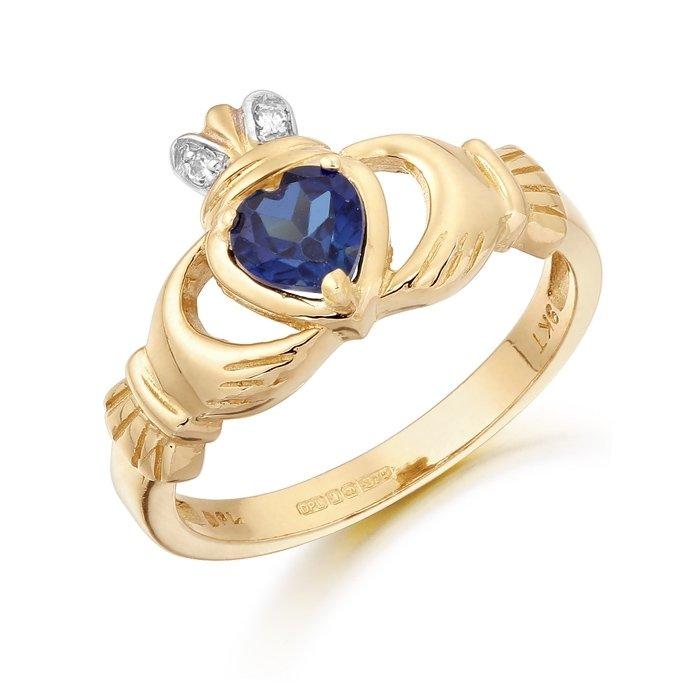 Claddagh Ring-CL25SAPCL