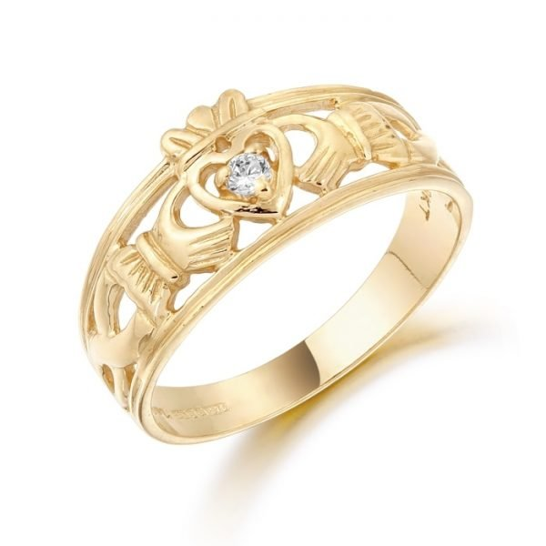 Claddagh Ring-CL26CL