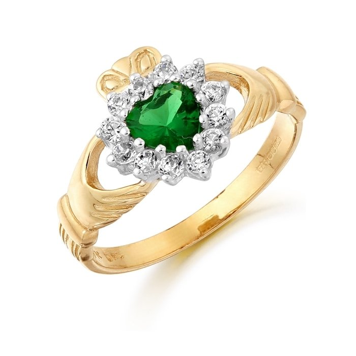 Claddagh Ring-D36GCL