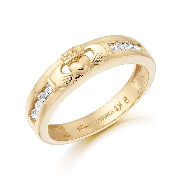 Claddagh Wedding Ring-CL27CL