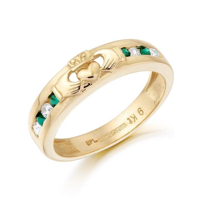 Claddagh Wedding Ring-CL27GCL