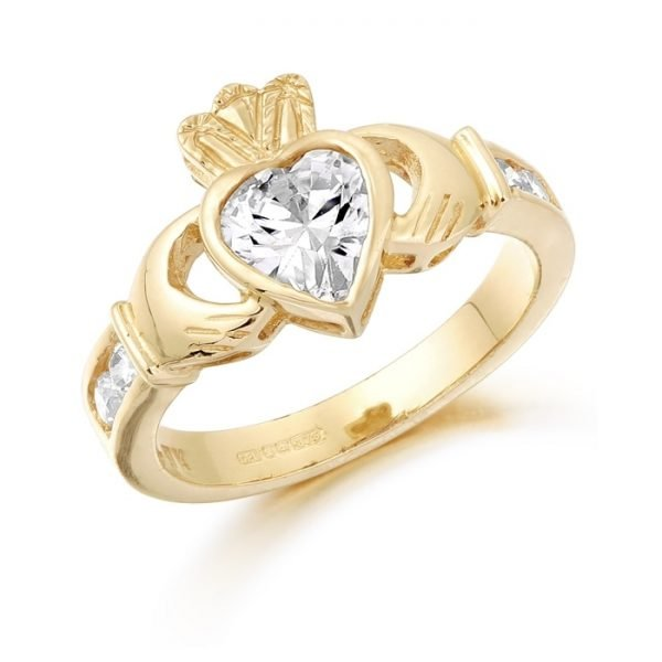 Claddagh Ring-CL102CL