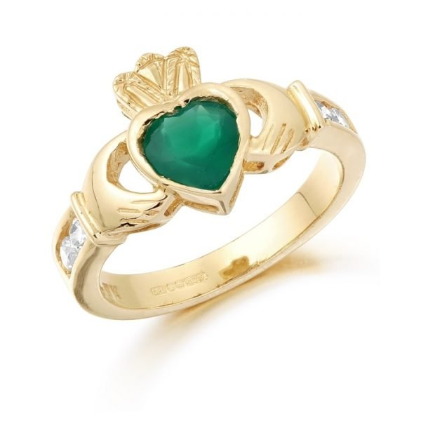 Claddagh Ring-CL102ECL