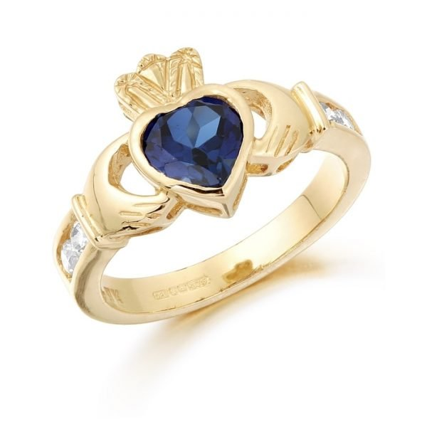 Claddagh Ring-CL102SAPCL