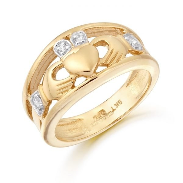 Ladies Claddagh Ring-CL21CL