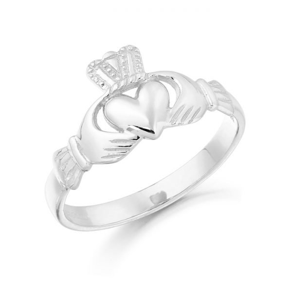 Gold Claddagh Ring-CL5WCL