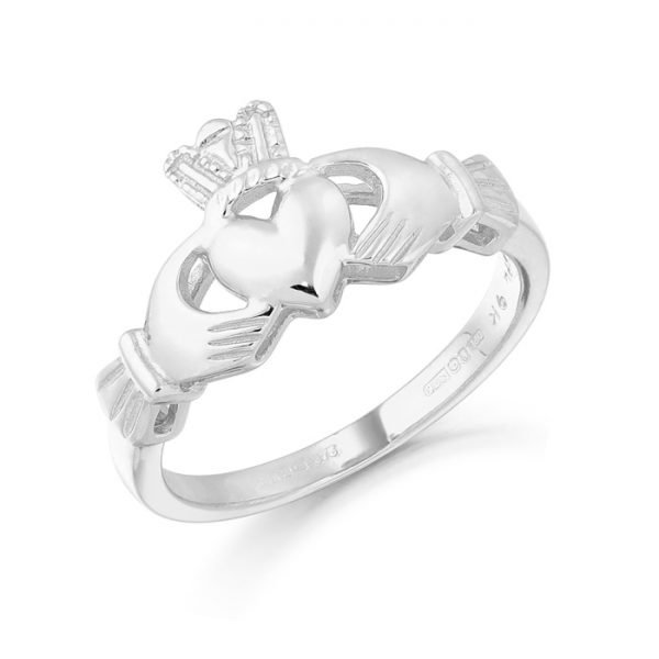 Gold Claddagh Ring-CL6WCL