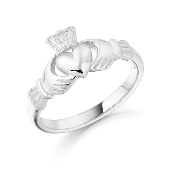 Gold Claddagh Ring-CL8WCL