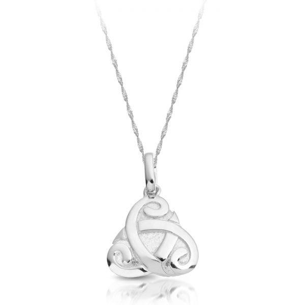 Silver Celtic Pendant-SP039CL
