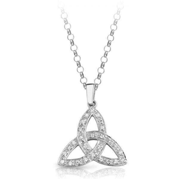 Silver Celtic Pendant-SP06CL