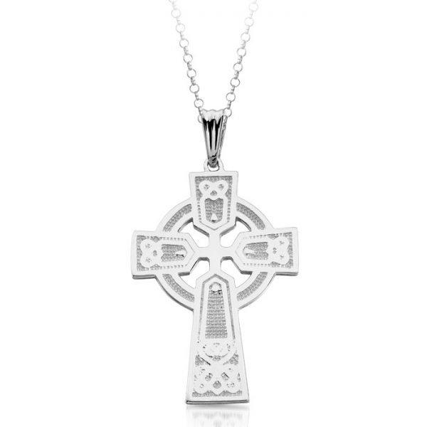 Silver Celtic Cross-SC04CL
