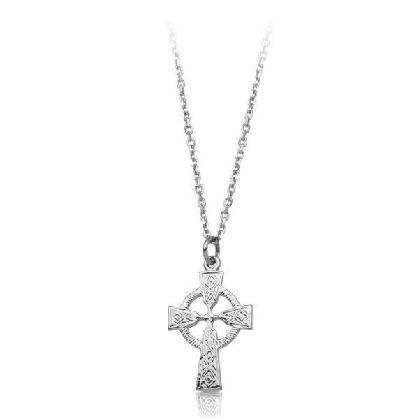 Silver Celtic Cross-SC112CL