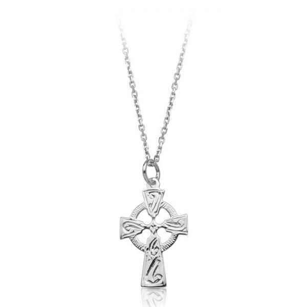 Silver Celtic Cross-SC113CL