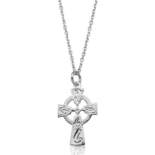 Silver Celtic Cross-SC114CL