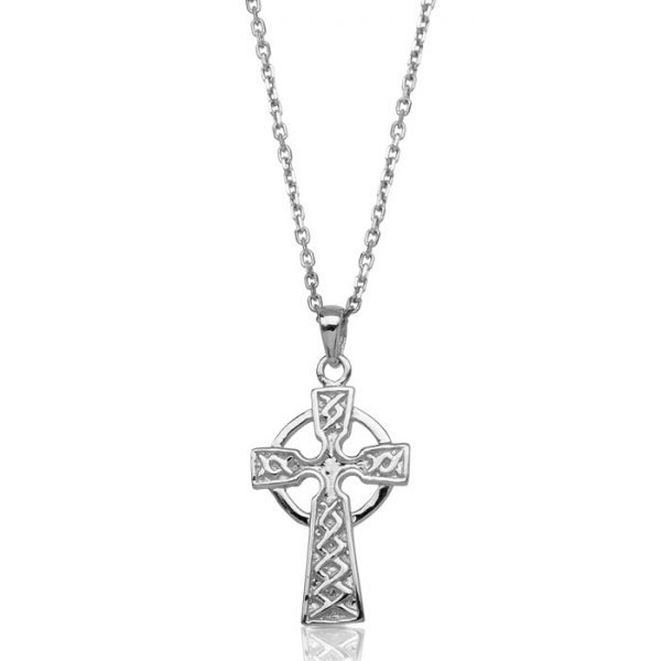 Silver Celtic Cross-SC127CL