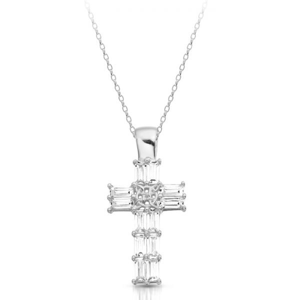 Silver Celtic Cross-SP212CL