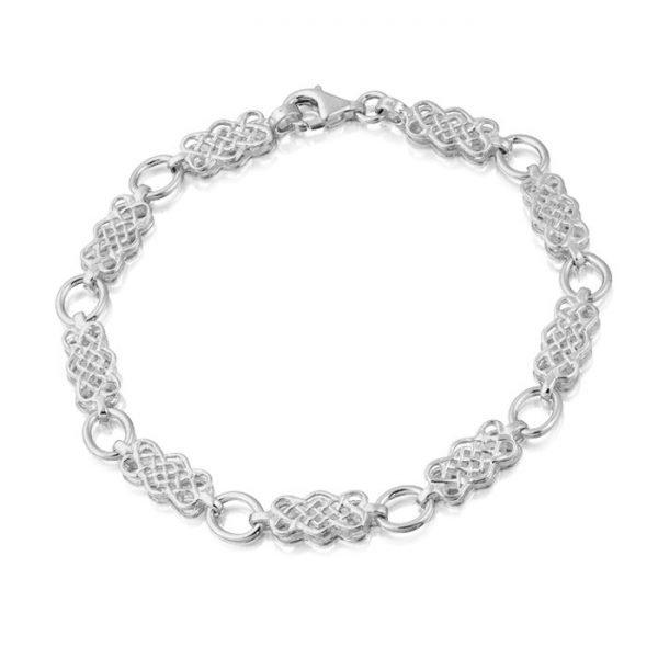 Silver Celtic Bracelet-SB01CL