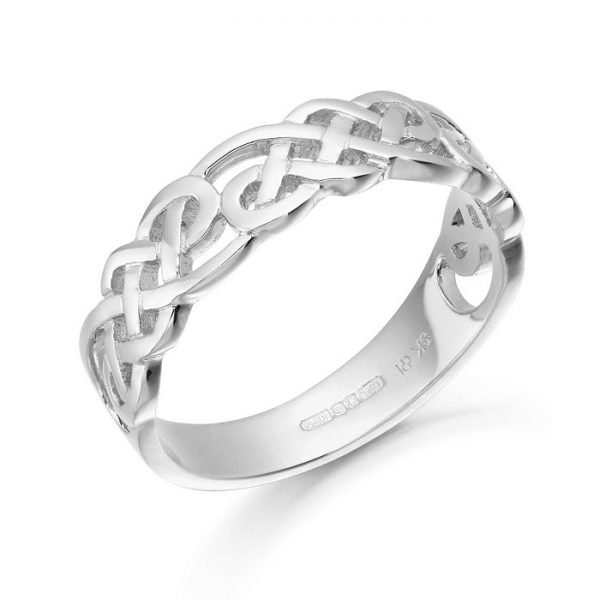 Silver Celtic Ring-S3242CL