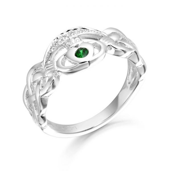 Silver Claddagh Ring-SCL35CL