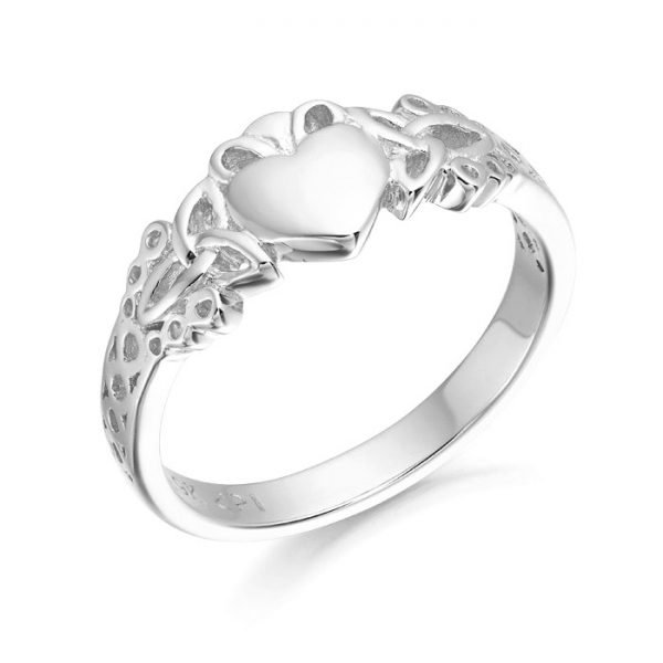 Silver Claddagh Ring-SCL40CL