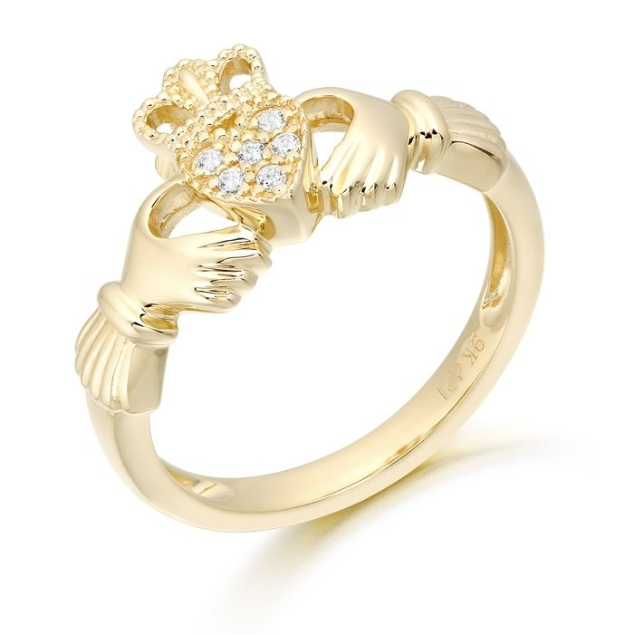 Claddagh Ring-CL45CL